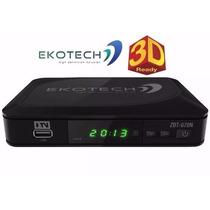 Conversor Tv Digital Hdtv Ekotech Zbt 670-n Cabo Hdmi