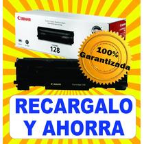 Recarga De Toner 128 Canon 278a Hp