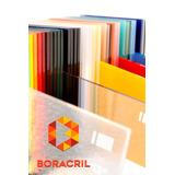 Acrílico Placas Planchas A Medida Cristal/color