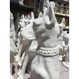 Perros De Yeso Fierro Y Cemento