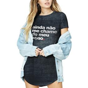 ad4288d2a9 Blusas Femininas Com Frases De Musica - Camisetas Manga Curta para ...