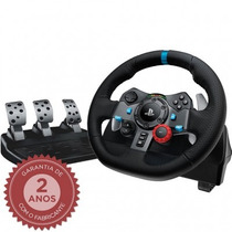 Logitech Driving Force G29 Volante Com Pedal Para Ps3/ps4/pc
