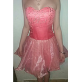 Vendo Vestido De Quinceanera, Color Salmon