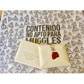 Carta Personalizada Hogwarts Harry Potter Con Envio Hogwarts