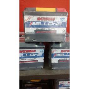 Bateria Auto Bellone 12x65/70 12v Corsa Gol 206 Clio