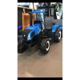 Tractor New Holland A Batería !! Réplica De Los Verdaderos