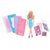Barbie Diseño De Modas Vestidos Para Decorar Mattel