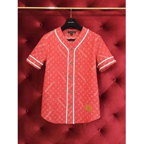 Camisa Supreme X Louis Vuitton