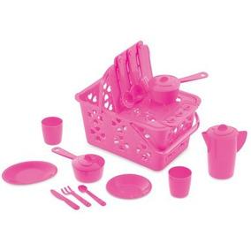 Brinquedo Infantil Kit Cozinha Ggbplast Dia Das Crianças