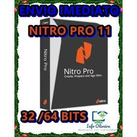 Nitro 11 Pro Editor De Pdf Original Ativado Envio Rápido