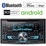 Autoestereo Kenwood Doble Din Bluetooth Cd Mp3 Usb Aux Mic