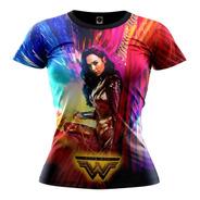 Camiseta Camisa Mulher Maravilha 84 Feminina Blusa R-001