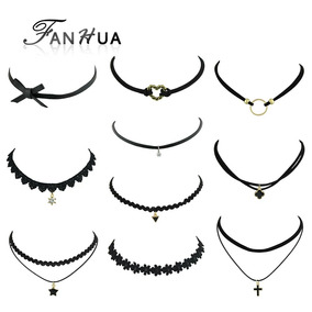 Kit 10 Gargantilhas Chocker - Pronta Entrega
