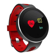 Relógio Smartwatch Sport Buetooth Band Mtr-09 Tomate
