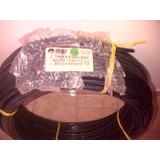 Cable Electrico Numero #4 Thhn 100% Cobre 7 Pelos 2forros