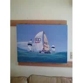 Vendo Pintura En Óleo Sobre Tela De 80cm Por 60cm