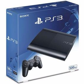 Caixa Vazia De Playstation 3 Slim Caixa Ps3 Alta Qualidade!
