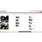 Catalogo De Repuestos Piezas Partes Toyota