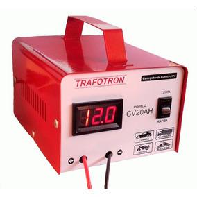 Carregador De Bateria 12v Lento Rapido Inteligente Cv20