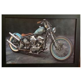 Cuadro Decorativo Moto, Motocicleta 95x65 Envío Gratis
