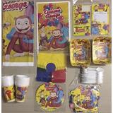 Kit Decoracion Fiesta Infantil Jorge El Curioso