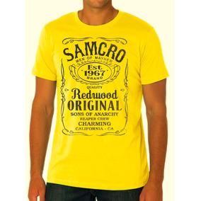 Camisa Samcro - Jack Daniel´s - Sons Of Anarchy