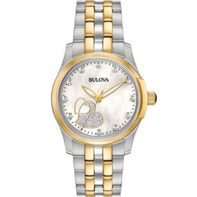 Reloj Bulova Diamond Glitter 98p152 Tienda Oficial Bulova