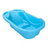 Banheira Ergonomica Banho Bebe 28 Litros Azul - Tutti Baby
