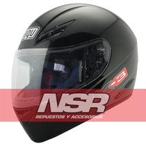 Casco Agv K3 Integral Cerrado K 3 Basic Negro Pista Nsr Moto