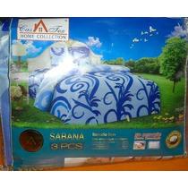 Sabanas De 1 Plaza Y Media Marca Casatex 100 % Algodon X12