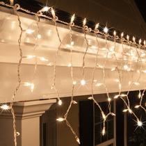 Luces Lluvia Cascada Calidas Fijas 150x60 Casamiento Navidad