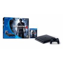 Nueva Ps4 Playstation 4 Slim Uncharted 4 500gb Garantia
