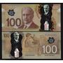 Billetes Canada 100. 50, 20. 10 Y 5 Dolares Todos Polimero