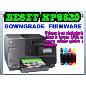 Downgrade Firmware Hp8620 ¿no Reconoce Cartuchos? Click Acá