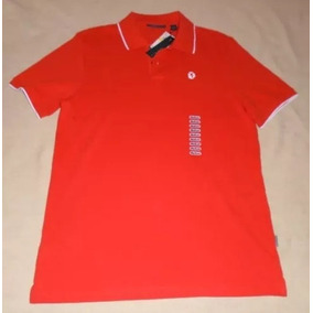 Playera Tipo Polo Perry Ellis Mediana M 100% Original Ticket