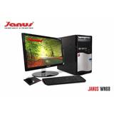 Computador Janus Celeron Dual Core 2,41 Ghz Monitor 24 34