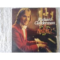 Disco De Vinil Richard Clayderman - É Natal -