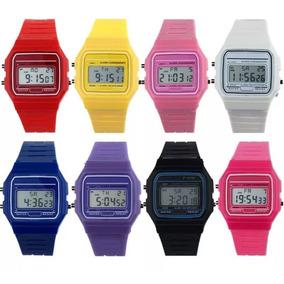 Reloj Casio Retro F91 Varios Colores Envio Gratis
