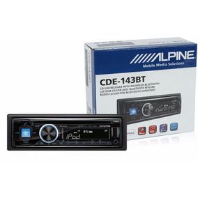 Estereo Alpine Original Cde-143bt Usb Bluetooth Mp3 Nuevo