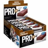Barra Proteina E Cereal Pro 30 Vit Chocolate Caixa 24 Unid