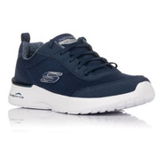 Tenis Skechers Air Dynamight Azul Marino Mujer 12947/nvy