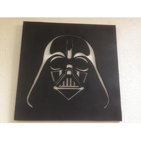 Darth Vader, Cuadro En Madera Mdf