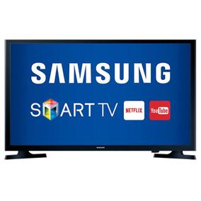Smart Tv Samsung Led Hd Preta 32 Un32j4300agxzd Com Conver