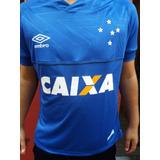 Camisa Do Cruzeiro Libertadores Nova 2018 Umbro Patch 2018 2fe146766d0df