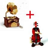 10 X Caixinha Musica Violino E Vitrola Preço Atacado Revenda