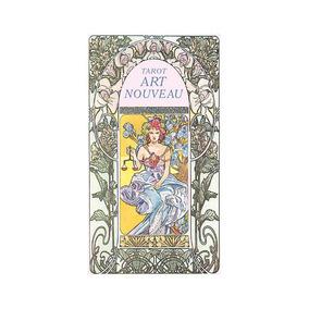 Deck De Tarot Art Nouveau Lo Scarabeo