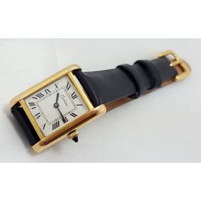 f21c92d5252 Relogio Cartier Folhouro Antigo Coleco - Relógios no Mercado Livre ...