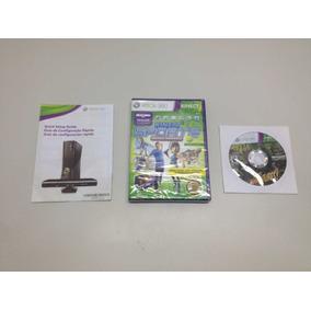 Xbox 360 250gb + Kinect + 1 Controle + 3 Jogos Novo