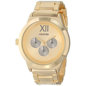 Unlisted Watches Mens Ul1269 City Streets Yellow Gold Case D