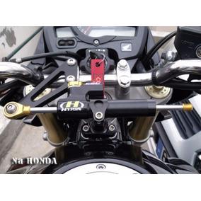 Amortecedor Guidao Direção Completo Para Hornet 2008 A 2015